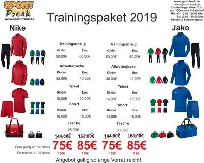 Trainingspaket 2019